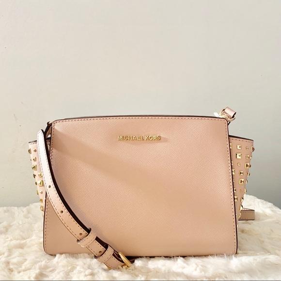 d674257505829 Michael Kors Bags   Nwt Selma Leather Crossbody Bag   Poshmark